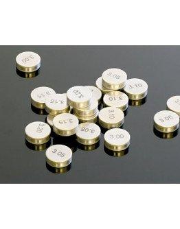 Podložky pod ventily 7,48 mm