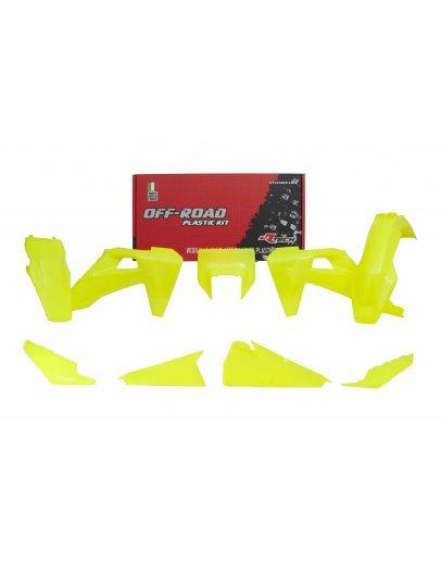 Sada plastov FE 250-501 2020, TE 150-300 2020 neon yellow