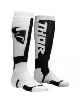 Ponožky Thor S8Y MX white/black detské