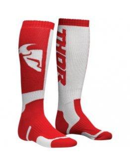Ponožky Thor S8Y MX red/white detské