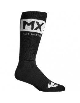 Ponožky Thor MX SOLID black/white 44-47