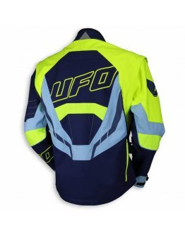 Bunda UFO Enduro Ranger blue/yellow