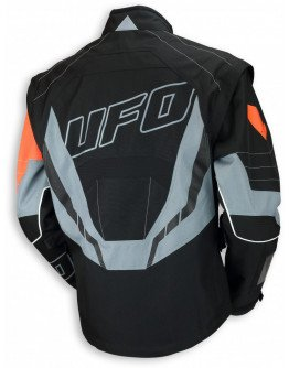 Bunda UFO Enduro Ranger black/red/grey