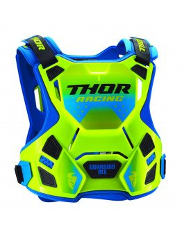 Chránič hrude Thor Guardian MX flow green/blue detský
