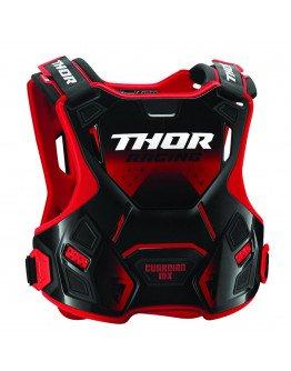 Chránič hrude Thor Guardian MX red/black detský