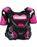 Chránič hrude Thor Guardian S20W black/pink dámsky
