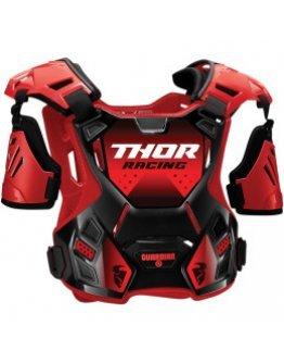 Chránič hrude Thor Guardian S20Y red/black detský