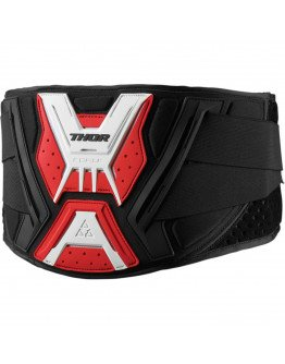 Ľadvinový pás Thor Belt Force black/red