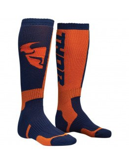 Ponožky Thor S8Y MX navy/orange detské
