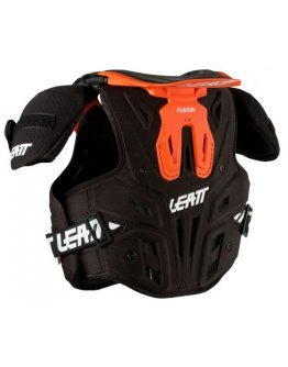 Chránič hrude Leatt Fusion Vest 2.0 junior oranžový