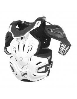 Chránič hrude a krčnej chrbtice Leatt fusion vest 3.0 biely