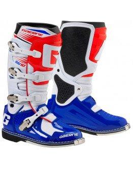 Čižmy Gaerne SG 10 white/blue/red