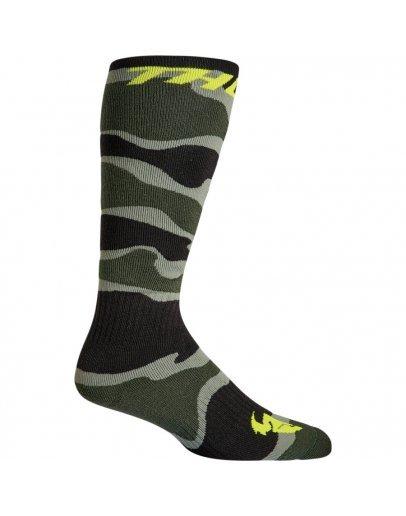 Ponožky Thor MX CAMO/GREEN/ACID detské