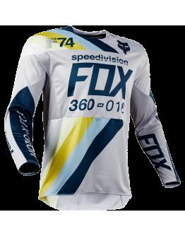 Dres FOX 360 Draftr Light Grey 2018