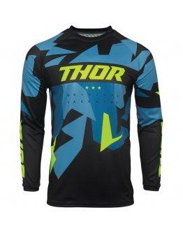 Dres Thor Sector Warship blue/acid detský