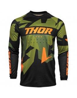 Dres Thor Sector Warship green/orange detský