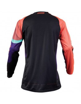 Dres Thor S9 Pulse Depths black/coral dámsky