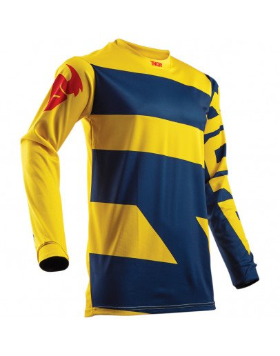 Dres Thor Pulse Level S8Y navy/yellow detský