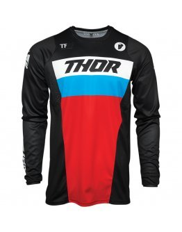 Dres Thor Pulse Racer black/red/blue