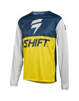 Dres SHIFT Whit3 Label Paulin GP navy/yellow