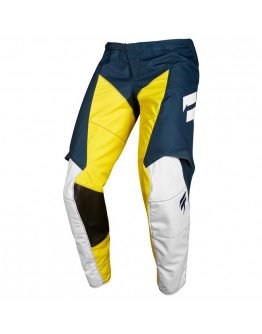 Nohavice SHIFT Whit3 Label Paulin GP navy/yellow