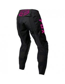 Nohavice FOX 180 DJET black/pink dámske 2022