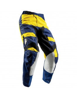 Nohavice Thor Pulse Level S8Y navy/yellow detské