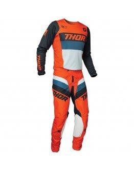 Nohavice Thor Pulse Racer orange/midnight