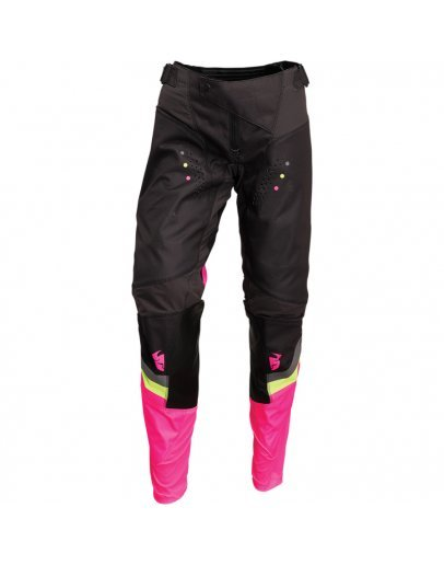 Nohavice Thor Pulse REV CHARCOAL/FLO PINK 2022