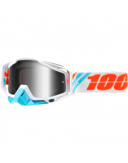 100% Racecraft Calc Ice so zrkadlovým sklom