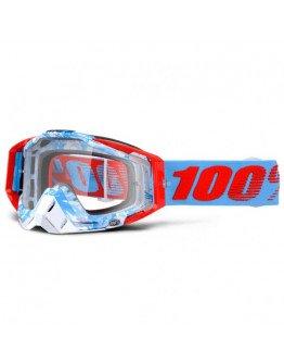 100% Racecraft Bobora s čírym sklom
