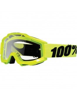 100% Accuri Fluo Yellow s čírym sklom