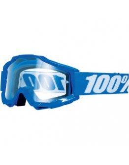 100% Accuri Reflex blue s čírym sklom