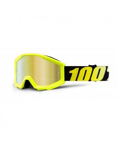 100% Strata Neon Yellow so zrkadlovým sklom