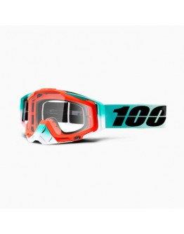 100% Racecraft Cubica s čírym sklom