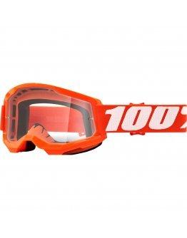 100% Strata 2 Orange s čírym sklom