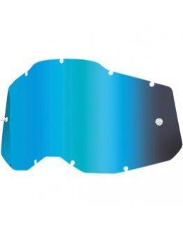 Zrkadlové sklo do okuliarov 100% Strata 2,Accuri 2, Racecraft 2 blue
