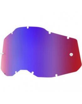 Zrkadlové sklo do okuliarov 100% Strata 2,Accuri 2, Racecraft 2 R/B
