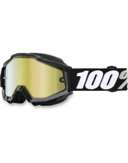 100% Accuri Snowmobile tornado black