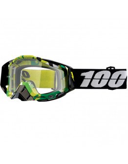 100% Racecraft Bootcamp s čírym sklom