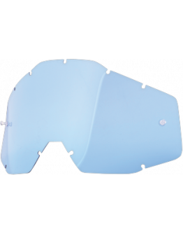 Dymové sklo do okuliarov 100% Accuri/Racecraft/Strata modré