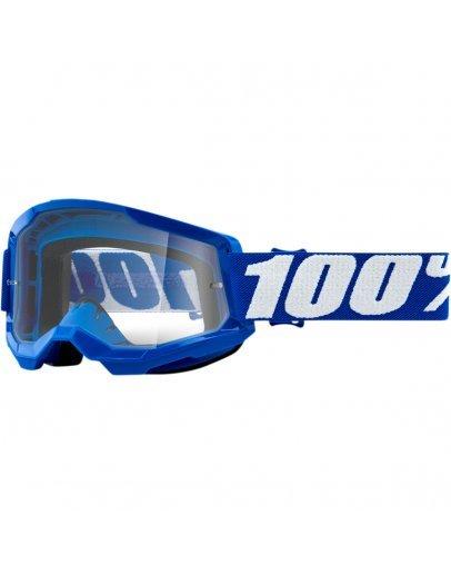 100% Strata 2 Blue s čírym sklom