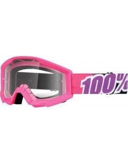 Okuliare 100% Strata Junior pink
