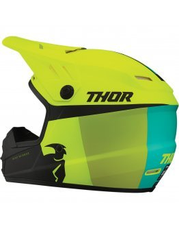Prilba Thor Sector Racer acid/lime detská