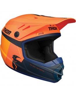 Prilba Thor Sector Racer orange/midnight detská