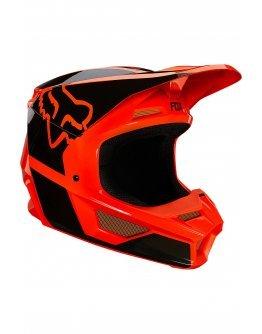 Prilba FOX V1 Revn fluo orange
