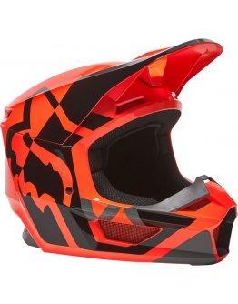 Prilba FOX V1 LUX flo orange 2022