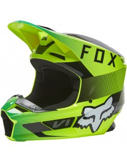 Prilba FOX V1 RIDL flo yellow 2022