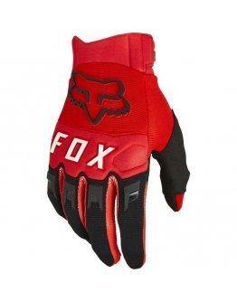 Rukavice FOX Dirtpaw fluo red