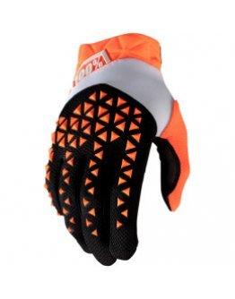 Rukavice 100% Airmatic orange/black